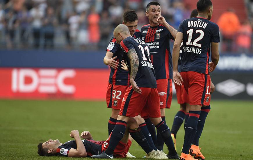 Lors de cette 38e et dernière journée, les Caennais ont besoin d'un point contre le PSG pour renouveler leur bail en Ligue 1 une cinquième saison consécutive.