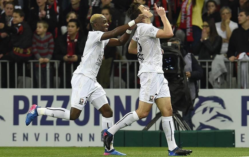 Il y a quasiment un an, le Stade Malherbe - grâce à deux buts d'Ivan Santini et Yann Karamoh - était passé tout près d'une victoire à Nice avant de se faire rejoindre dans les 20 dernières minutes.