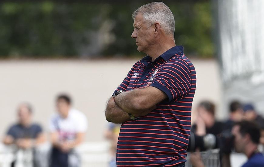 Au stade de La Mosson, Patrice Garande regrette que son équipe ait donné le but à son adversaire à la suite d'une erreur technique. ©Photo d'archives