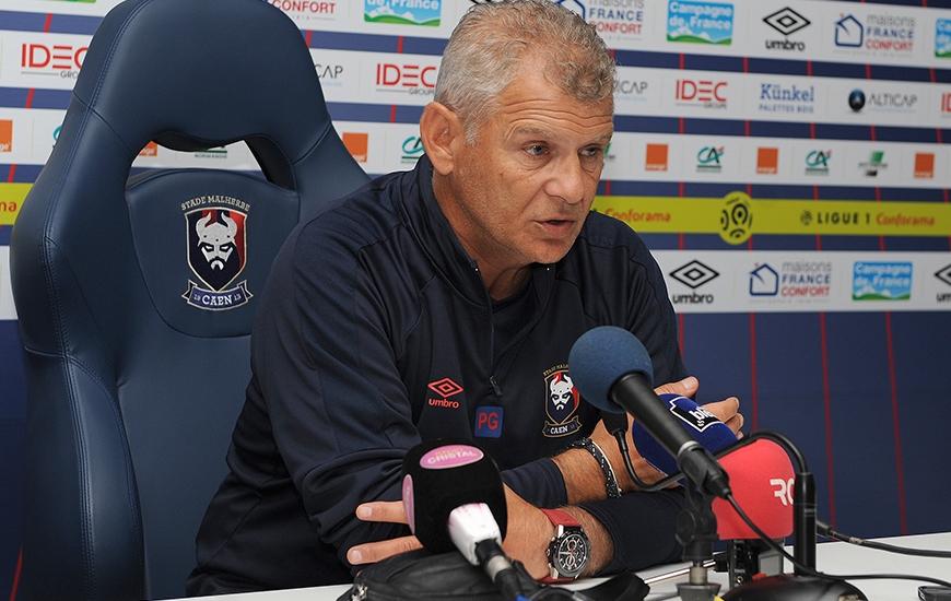 [2e journée de L1] SM Caen 0-1 AS Saint Etienne Patrice_garande_conf_0