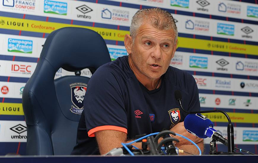Pour le déplacement à Rennes, Patrice Garande enregistre deux bonnes nouvelles avec les retours de Youssef Aït Bennasser et Stef Peeters.