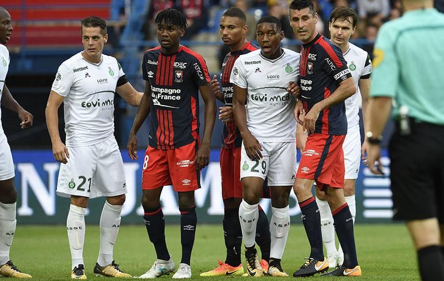 Durel Avounou, Julien Féret et les Caennais retrouveront Romain Hamouma et les Stéphanois samedi 27 janvier. Coup d'envoi à 20 heures.