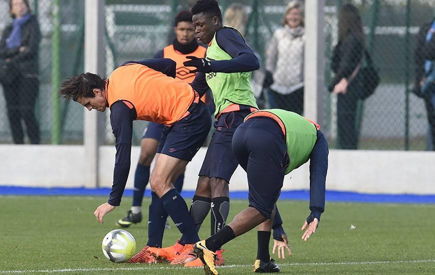 Entre la réception de Lille, samedi soir, et le déplacement à Saint-Etienne, le week-end des 27-28 janvier, cinq matches en l'espace de 15 jours attendent Ivan Santini, Romain Genevois et les Caennais.