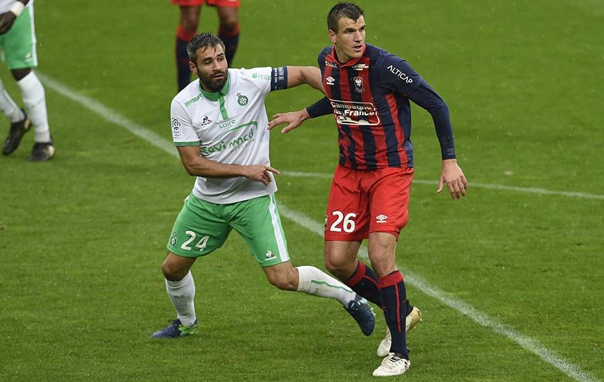 La confrontation entre le Stade Malherbe d'Ivan Santini et le Saint-Etienne de Loïc Perrin sera diffusée en intégralité sur beIN Sports max 6.