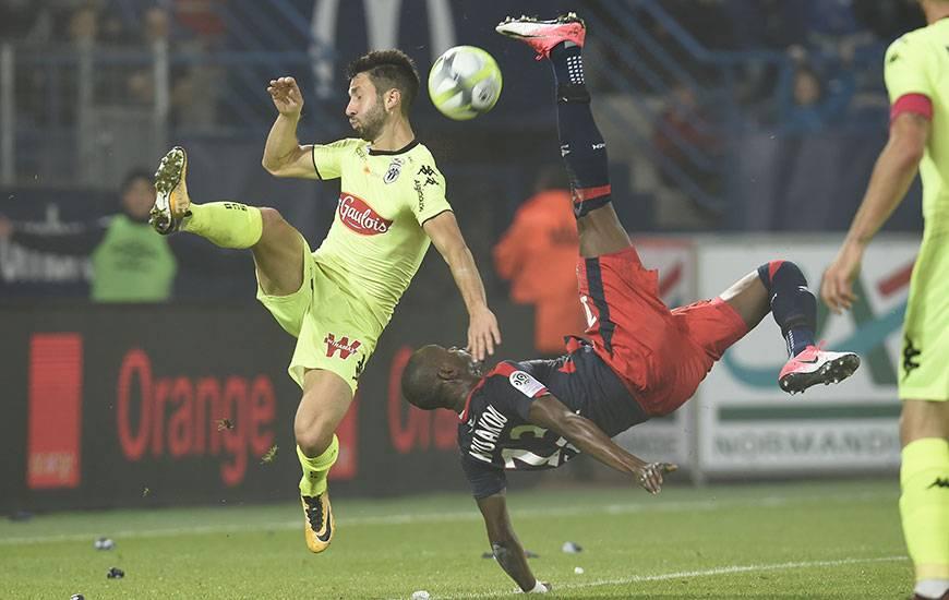 La confrontation entre le Stade Malherbe de Christian Kouakou et le SCO de Yoann Andreu sera retransmise en intégralité sur beIN Sports max 5. Coup d'envoi à 20 heures au stade Raymond-Kopa.