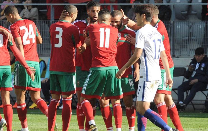 Titulaire contre la Corée du Sud, Youssef Aït Bennasser a disputé l'intégralité de ce match amical avec le Maroc.