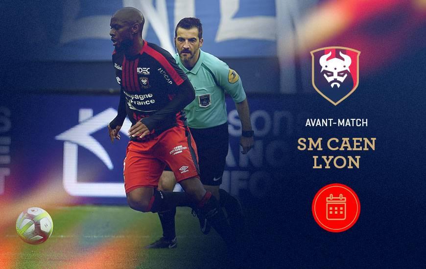 [16e journée de L1] SM Caen 1-2 O Lyon Sm-caen-lyon-avant-match