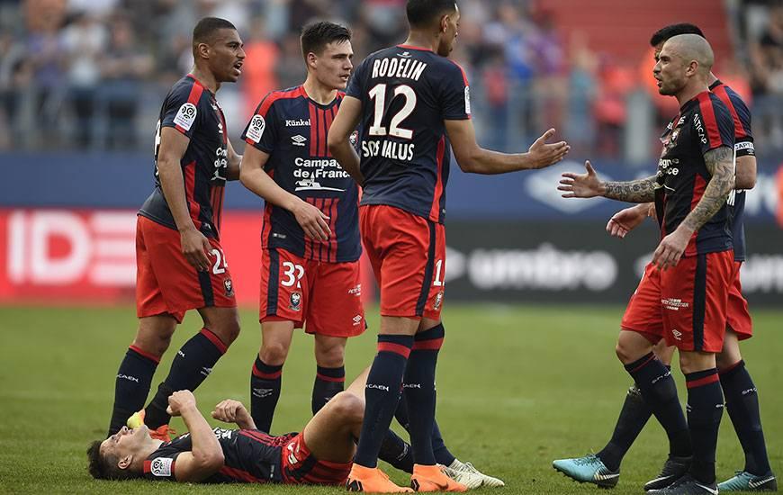 Malgré le 11e but cette saison d'Ivan Santini, le Stade Malherbe s'est incliné dans les arrêts de jeu contre l'AS Monaco.