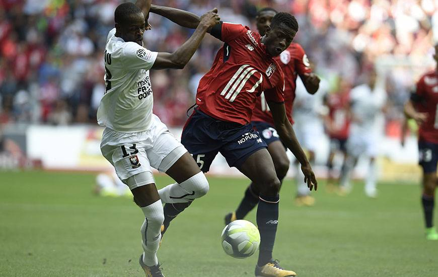 La confrontation entre le Stade Malherbe de Christian Kouakou et le LOSC d'Edgar Ié sera retransmise sur beIN Sports max 7. Coup d'envoi à 20 heures.