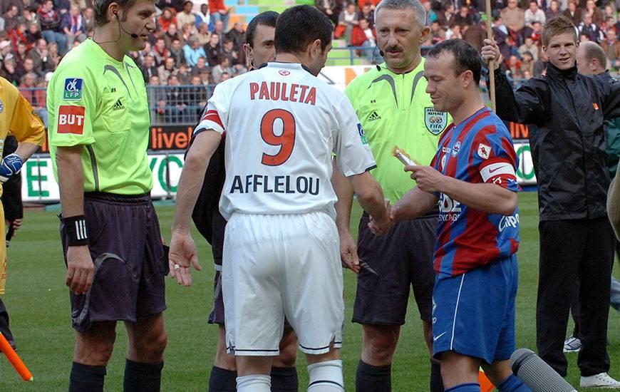 Le dernier succès caennais aux dépens du PSG remonte à dix ans quasiment jour pour jour. Le 19 avril 2008, le club normand avait étrillé 3-0 les coéquipiers de Pedro Miguel Pauleta avec des buts d'Anthony Deroin, Reynald Lemaître et Yoan Gouffran.