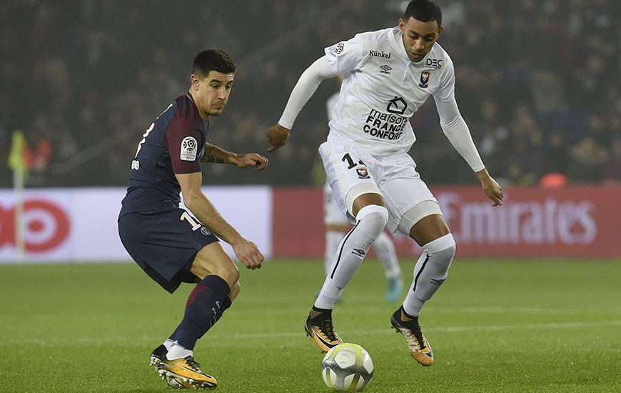 La confrontation entre le Stade Malherbe de Ronny Rodelin et le PSG de Yuri Berchiche sera retransmise en direct et en intégralité sur France 3. Coup d'envoi à 21 h 05.