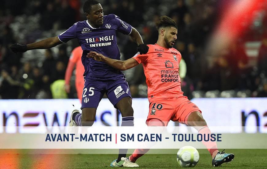 [33e journée de L1] SM Caen 0-0 Toulouse FC Smc-tfc-avant-match