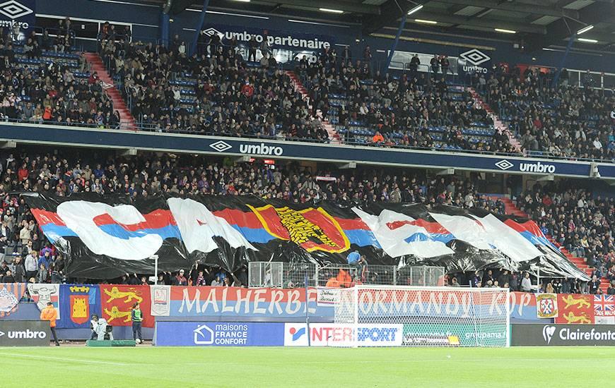 Depuis le début de la saison, le stade Michel-d'Ornano affiche une moyenne de 16 428 spectateurs pourun taux d'occupation de plus de 80%.