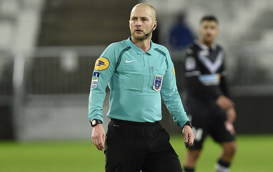 Stéphane Jochem a déjà arbitré à trois reprises le Stade Malherbe cette saison : contre Saint-Etienne, Strasbourg et Bordeaux.