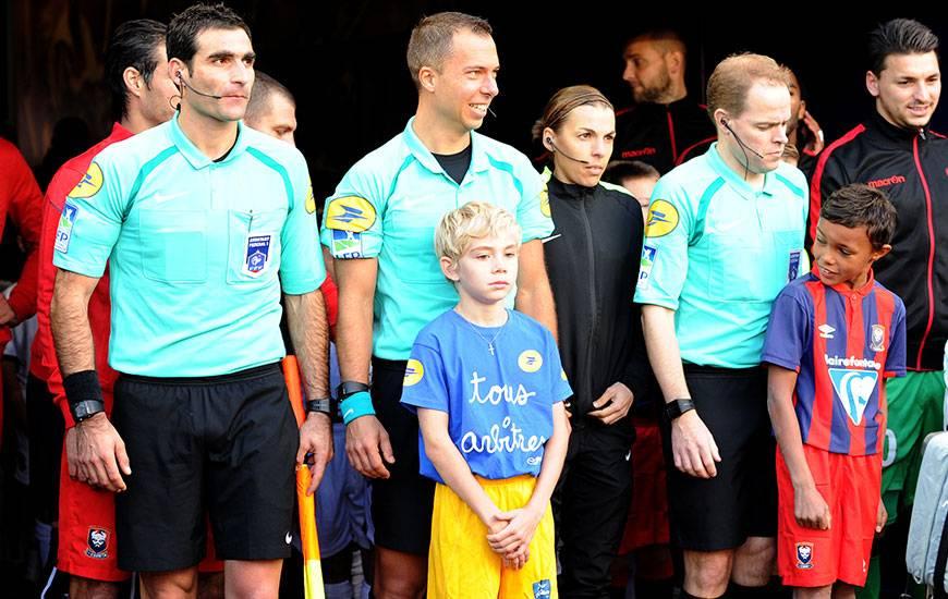 Si elle a déjà officié comme 4e arbitre sur des matches du Stade Malherbe, Stéphanie Frappart dirigera pour la première fois une rencontre du club normand.