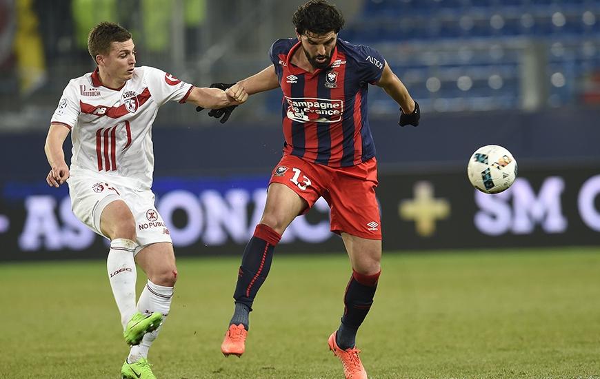 """Après deux saisons sous le maillot """"Bleu et Rouge"""", Syam Ben Youssef va poursuivre sa carrière en Turquie."""