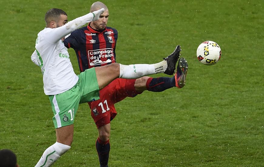 Sous un déluge, Vincent Bessat et les Caennais avaient baissé pavillon contre Oussama Tannane et les Stéphanois la saison dernière à d'Ornano (2-0).