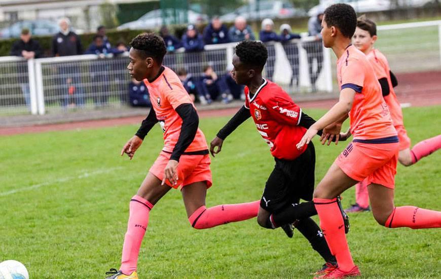 Agé de 12 ans, Tidiam Gomis - qui s'est engagé avec le Stade Malherbe pour les prochaines saisons - a été désigné meilleur joueur du Challenge Marcel-Bois.