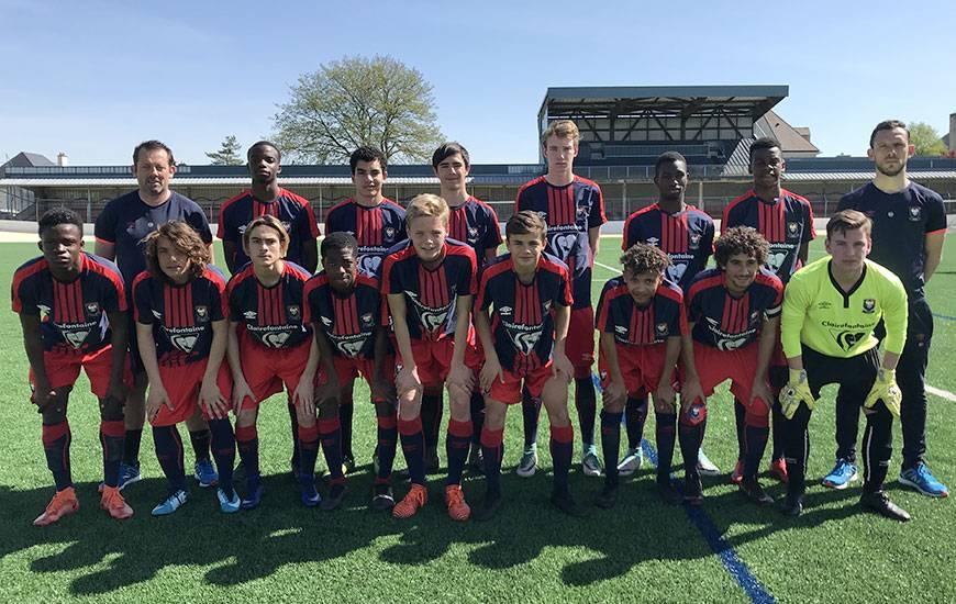 Opposés à la sélection U15 Elite de la Ligue Normandie qui prépare les interrégionaux, les U16 de Matthieu Ballon et Yann Chevllier se sont imposés 4-2 sur le synthétique du stade de Venoix-Claude-Mercier.