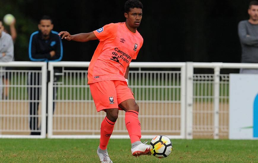 Comme Mouhamadou Dabo un peu plus tôt en seconde période, Yoël Armougom a été expulsé dans les dernières minutes de la rencontre face à Mondeville.