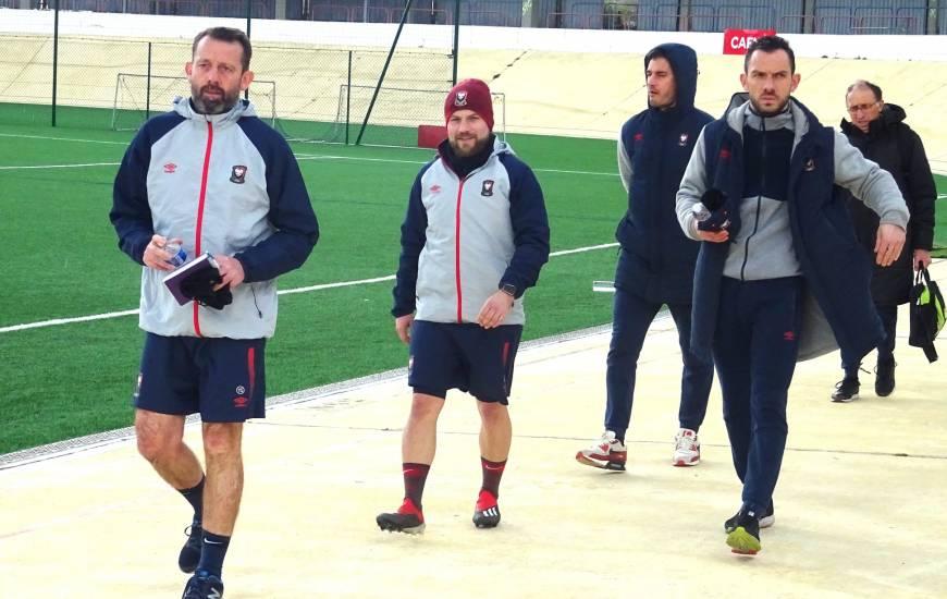 Matthieu Ballon, Nicolas Seube et les U17 Nationaux peuvent revenir à hauteur du LOSC en cas de résultat positif dimanche après-midi