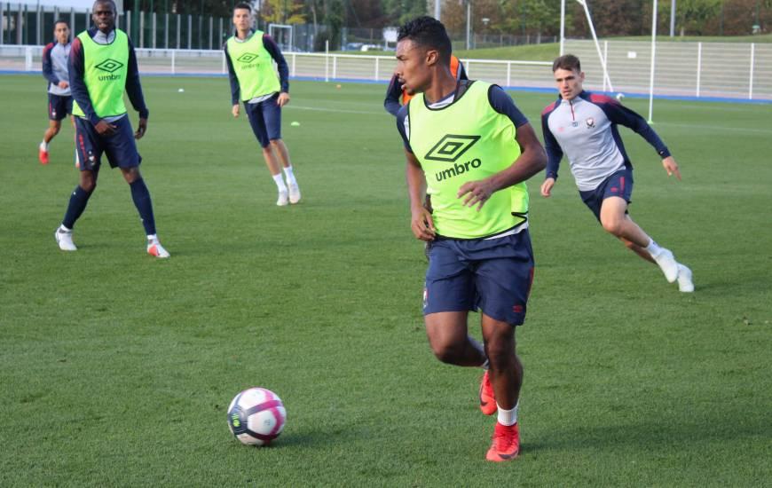 Yoël Armougom, Jessy Deminguet et le reste de l'effectif reprendront l'entraînement ce mardi après-midi après deux jours de repos