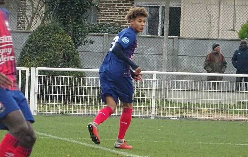 Alexis Beka Beka a offert le point du match nul aux U19 Nationaux grâce à son but inscrit sur la pelouse du LOSC hier