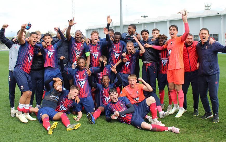 Les U19 Nationaux du Stade Malherbe Caen champions à trois journées de la fin joueront les playoffs pour la deuxième saison de suite