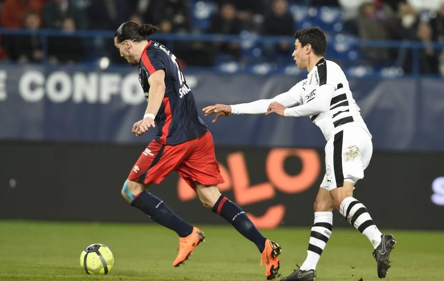 Enzo Crivelli et le Stade Malherbe vont retrouver le Stade Rennais au début du mois de Novembre à d'Ornano