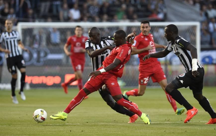 Ismaël Diomandé et les caennais s'étaient inclinés (2-1) sur la pelouse d'Angers lors de la saison 2016 / 2017