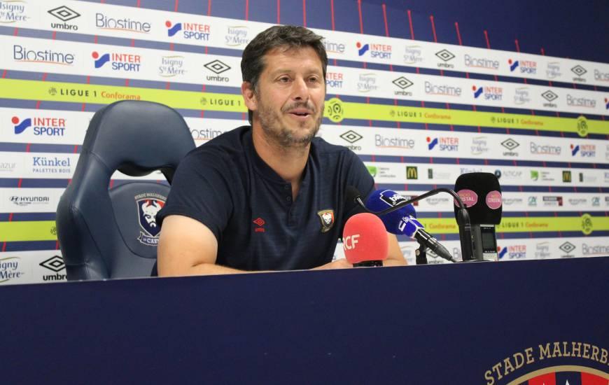 Le coach caennais veut retrouver la victoire à d'Ornano, le dernier succès du Stade Malherbe à domicile remonte au 4 mars lors d'une réception du RC Strasbourg