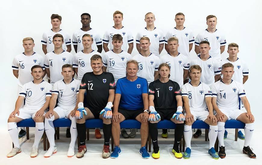 Timo Stavitski qui porte le numéro 7 et ses coéquipiers n'auront pas le droit à l'erreur face à la Norvège pour espérer accrocher une des deux premières places © Fédération Finlandaise de Football