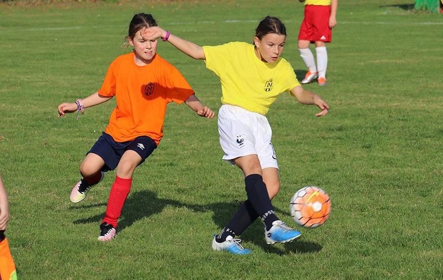 Le Stade Malherbe Caen organise son premier stage foot féminin du 15 au 19 avril sur les installations de Venoix ©  Ligue de football de Normandie