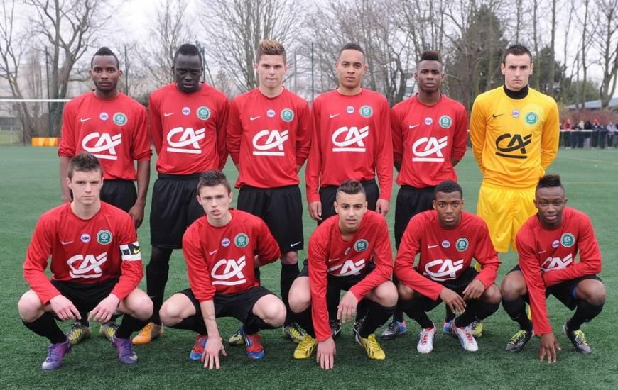 Sur cette photo de 2013, on peut retrouver Lenny Nangis, Frédéric Guilbert, Paul Reulet, Sada Thioub, Thomas Lemar et Adam Diakhaby