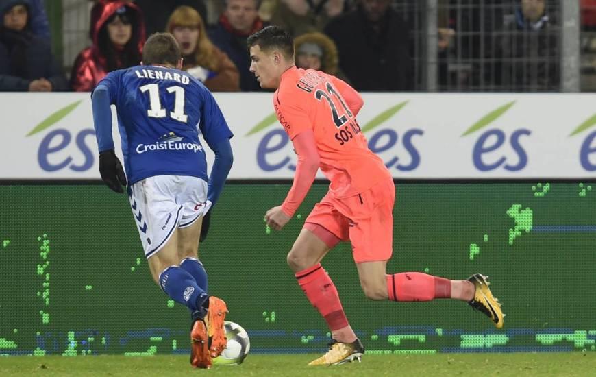 [17e journée de L1] RC Strasbourg 2-2 SM Caen Guilbert_lienard