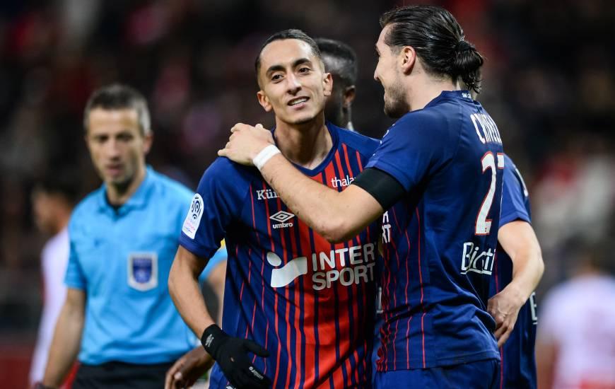 A l'image de Saïf Khaoui et Enzo Crivelli, l'attaque du Stade Malherbe Caen se porte bien depuis le début du mois de décembre avec 8 buts inscrits en 5 matchs