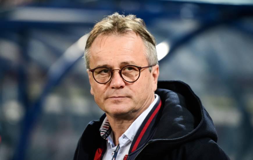 Le président Gilles Sergent a tenu à réagir après la rencontre d'hier soir face au Nîmes Olympique à d'Ornano