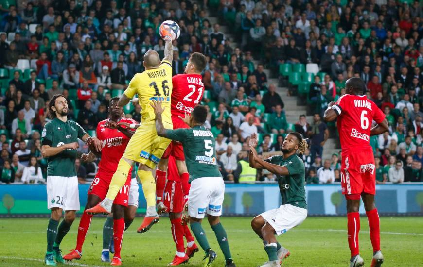 Le Stade Malherbe Caen s'était incliné au match aller face aux stéphanois malgré l'ouverture du score de Fayçal Fajr