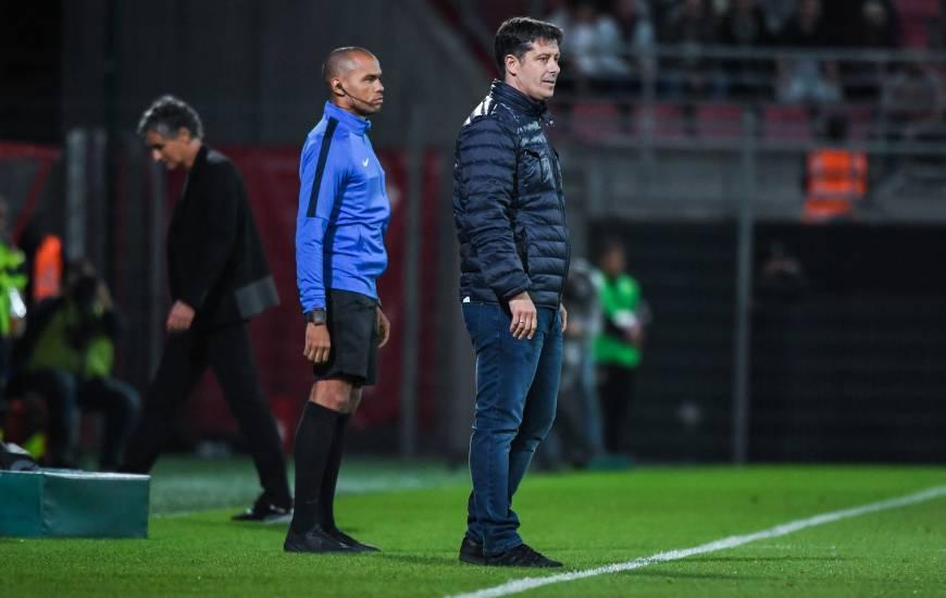 Novice au plus haut niveau, Fabien Mercadal a obtenu sa première victoire de sa carrière en Ligue 1 Conforama hier soir