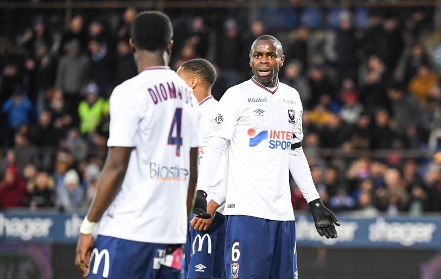 Prince Oniangué et Ismaël Diomandé ont eux aussi fait preuve de caractère au milieu de terrain pour arracher le point du match nul