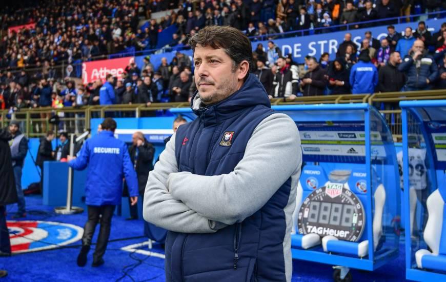 Fabien Mercadal s'est réjouit d'avoir arraché le match nul face au RC Strasbourg après avoir été mené deux fois au score