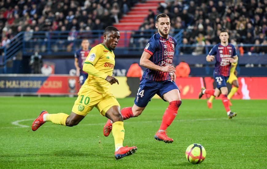 Majeed Waris a provoqué le penalty qui a offert la victoire au FC Nantes ce soir, transformé par Valentin Rongier