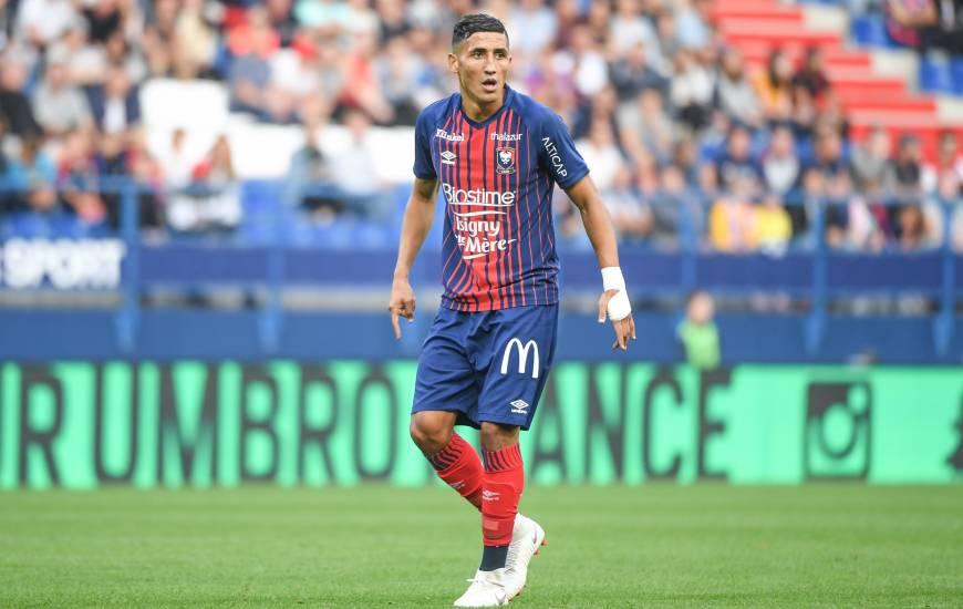 Fayçal Fajr vient de franchir la barre symbolique des 100 matchs disputés avec le Stade Malherbe Caen