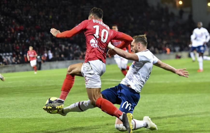 Costaud tout au long de la rencontre, Jonathan Gradit a malheuresement inscrit le deuxième but contre son camp en fin de match