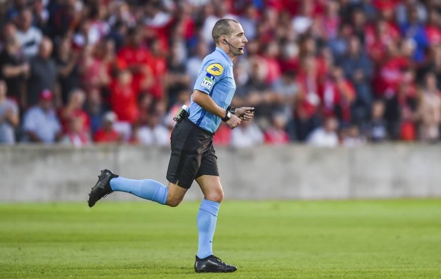 Benoît Millot va diriger une rencontre du Stade Malherbe Caen pour la première fois de la saison
