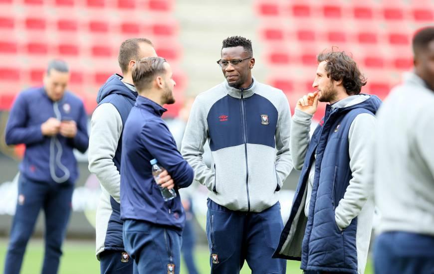 Suspendu le week-end dernier pour le déplacement au Groupama Stadium, Malik Tchokounté est bien dans le groupe pour la réception des Girondins de Bordeaux