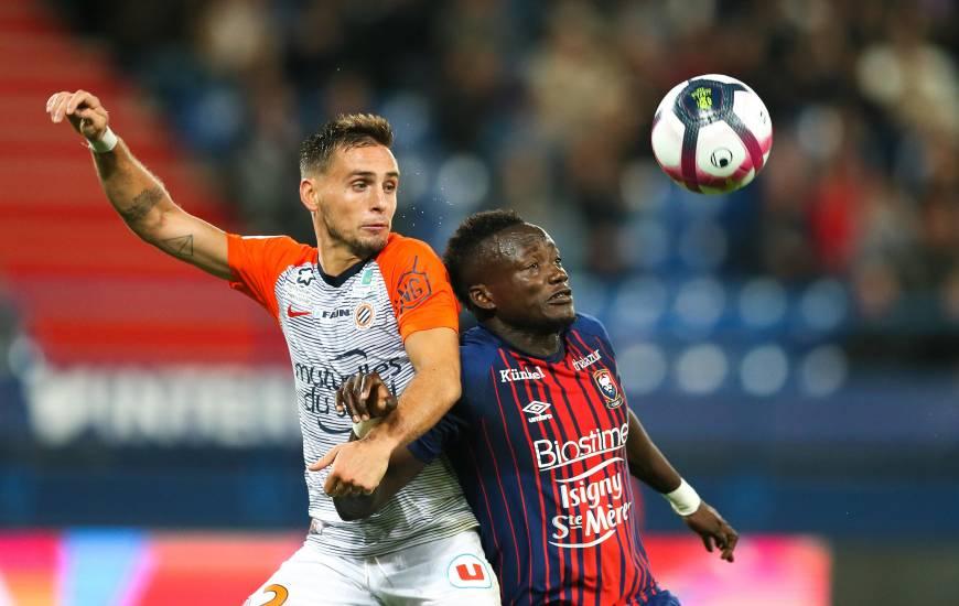 Le Stade Malherbe avait obtenu le point du match nul lors de la réception du Montpellier HSC en première partie de saison