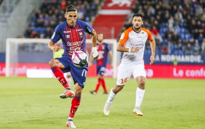Petite alerte ces derniers jours pour Fayçal Fajr, le numéro 10 du Stade Malherbe Caen est incertain pour la réception d'Amiens demain soir