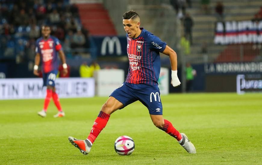 Fayçal Fajr devrait disputer son 100ème match avec le Stade Malherbe Caen lors du 16es de Coupe de la Ligue face au Dijon FCO