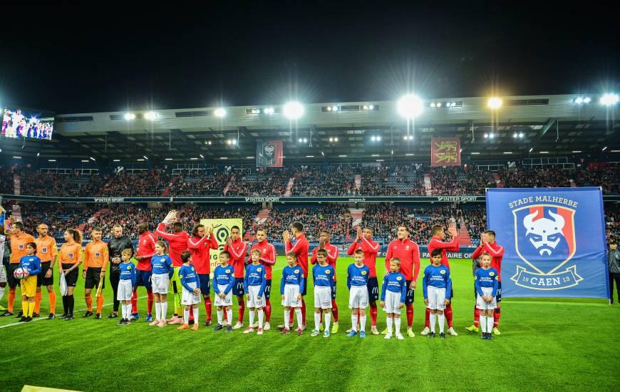 Le Stade Malherbe a enchaîné un cinquième match sans défaite à d'Ornano samedi soir avec la réception de l'EA Guingamp